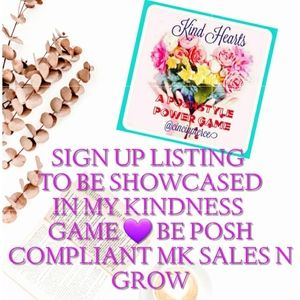 NEED MORE PLAYERS 💜🌸 SIGN UP KINDESS GAME 💜🌸💜